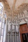 Ο καθεδρικός ναός της Notre-Dame, Λωζάνη, Ελβετία Στοκ φωτογραφίες με δικαίωμα ελεύθερης χρήσης