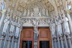 Ο καθεδρικός ναός της Notre-Dame, Λωζάνη, Ελβετία Στοκ Εικόνες