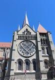 Ο καθεδρικός ναός της Notre-Dame, Λωζάνη, Ελβετία Στοκ φωτογραφία με δικαίωμα ελεύθερης χρήσης