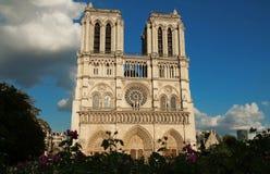Ο καθεδρικός ναός της Notre Dame, Παρίσι, Γαλλία Στοκ Εικόνα