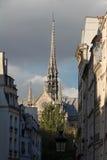 Ο καθεδρικός ναός της Notre Dame, Παρίσι, Γαλλία Στοκ εικόνα με δικαίωμα ελεύθερης χρήσης