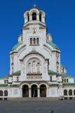 Ο καθεδρικός ναός του Αλεξάνδρου Nevsky στη Sofia Στοκ Εικόνες