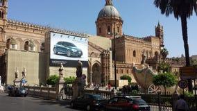 Ο καθεδρικός ναός του Παλέρμου, Παλέρμο, Σικελία, Ιταλία Στοκ εικόνα με δικαίωμα ελεύθερης χρήσης