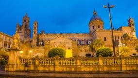 Ο καθεδρικός ναός του Παλέρμου, Σικελία Στοκ Εικόνα