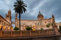 Ο καθεδρικός ναός του Παλέρμου, Σικελία Στοκ εικόνα με δικαίωμα ελεύθερης χρήσης
