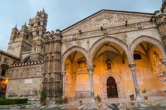 Ο καθεδρικός ναός του Παλέρμου, Σικελία Στοκ εικόνες με δικαίωμα ελεύθερης χρήσης