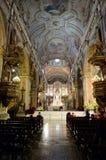 Ο καθεδρικός ναός του Σαντιάγο de Χιλή Στοκ φωτογραφία με δικαίωμα ελεύθερης χρήσης