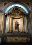 Ο καθεδρικός ναός του Σαντιάγο de Χιλή Στοκ Εικόνες