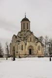 Ο καθεδρικός ναός του λυτρωτή & x28 Spassky Cathedral& x29  στο μοναστήρι Andronikov Στοκ Εικόνες