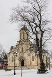 Ο καθεδρικός ναός του λυτρωτή & x28 Spassky Cathedral& x29  στο μοναστήρι Andronikov Στοκ Εικόνα