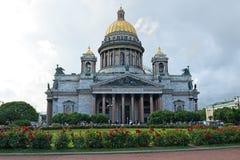 Ο καθεδρικός ναός του ST Isaac και η ανάπτυξη αυξήθηκαν στο s του ST Isaac Στοκ εικόνες με δικαίωμα ελεύθερης χρήσης