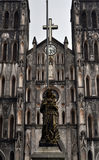 Ο καθεδρικός ναός του ST Joseph, Ανόι Στοκ Εικόνες