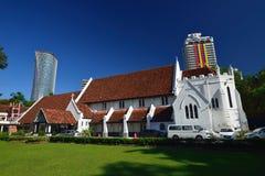 Ο καθεδρικός ναός του ST Mary, Κουάλα Λουμπούρ, Μαλαισία Στοκ εικόνες με δικαίωμα ελεύθερης χρήσης