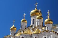 Ο καθεδρικός ναός Annunciation, Κρεμλίνο, Μόσχα Στοκ Εικόνα