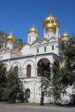 Ο καθεδρικός ναός Annunciation, Κρεμλίνο, Μόσχα Στοκ εικόνες με δικαίωμα ελεύθερης χρήσης