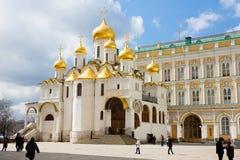 Ο καθεδρικός ναός Annunciation στη Μόσχα Κρεμλίνο Στοκ Εικόνες