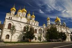 Ο καθεδρικός ναός Annunciation στο Κρεμλίνο, Μόσχα, Ρωσία Στοκ Εικόνες