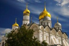 Ο καθεδρικός ναός Annunciation στο Κρεμλίνο, Μόσχα, Ρωσία Στοκ Εικόνα