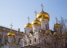 Ο καθεδρικός ναός Annunciation στο Κρεμλίνο Στοκ Εικόνα