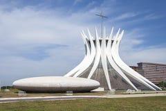 Ο καθεδρικός ναός Brasília Στοκ φωτογραφία με δικαίωμα ελεύθερης χρήσης