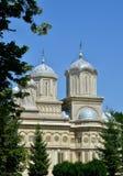 Ο καθεδρικός ναός Curtea de Argeș Στοκ εικόνα με δικαίωμα ελεύθερης χρήσης