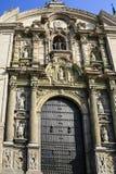 Ο καθεδρικός ναός Plaza de Armas, Λίμα Στοκ φωτογραφία με δικαίωμα ελεύθερης χρήσης