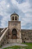 Ο καθεδρικός ναός Svetitskhoveli από το 11ο αιώνα, πύργος κουδουνιών Στοκ Φωτογραφίες