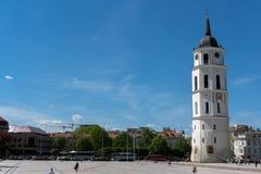 Ο καθεδρικός ναός Vilnius Στοκ φωτογραφία με δικαίωμα ελεύθερης χρήσης