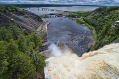 ο Καναδάς πέφτει Montmorency Κεμπέκ στοκ εικόνες με δικαίωμα ελεύθερης χρήσης