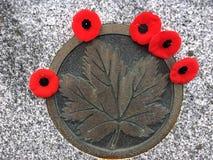 Ο Καναδάς θυμάται Στοκ Εικόνα