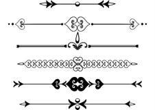 ο κανόνας γραμμών τυλίγει &b ελεύθερη απεικόνιση δικαιώματος