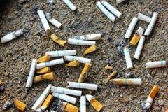 Ο καπνός είναι το τέλος Στοκ Εικόνες