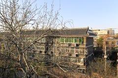 Ο κατοικημένος στη xian αρχαία πόλη, πλίθα rgb Στοκ Φωτογραφίες