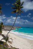 Ο κατώτατος κόλπος είναι μια από τις ομορφότερες παραλίες στις Καραϊβικές Θάλασσες Στοκ Εικόνες