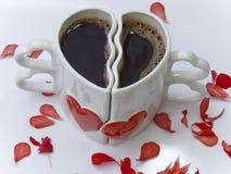 ο καφές έχει αφήνει από κοινού Στοκ Εικόνες
