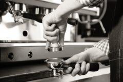 ο καφές απομόνωσε το καθορισμένο λευκό Στοκ εικόνες με δικαίωμα ελεύθερης χρήσης