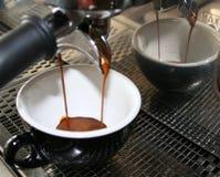 ο καφές εμπορικός χύνει τη& στοκ εικόνες