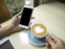 Ο καφές και χαλαρώνει Στοκ φωτογραφία με δικαίωμα ελεύθερης χρήσης