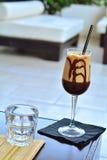 Ο καφές με τον πάγο Στοκ φωτογραφία με δικαίωμα ελεύθερης χρήσης