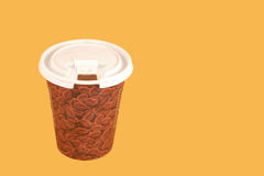 ο καφές παίρνει έξω Στοκ εικόνα με δικαίωμα ελεύθερης χρήσης