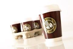 ο καφές πηγαίνει Στοκ εικόνες με δικαίωμα ελεύθερης χρήσης