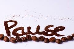 ο καφές σπασιμάτων παίρνει Στοκ φωτογραφία με δικαίωμα ελεύθερης χρήσης