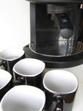 ο καφές 2 μας δίνει σε μερι Στοκ Φωτογραφία