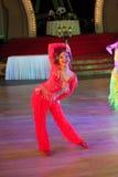 Ο καλλιτεχνικός χορός απονέμει το 2014-2015 Στοκ φωτογραφίες με δικαίωμα ελεύθερης χρήσης