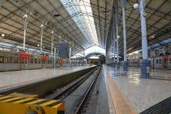 Ο κενός σιδηροδρομικός σταθμός Rossio Στοκ φωτογραφίες με δικαίωμα ελεύθερης χρήσης