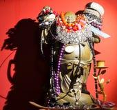 Ο κινεζικός Βούδας διακόσμησε με τα κοσμήματα Στοκ φωτογραφία με δικαίωμα ελεύθερης χρήσης
