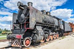 Ο κινητήριος τύπος του ER μηχανών ατμού Eh2 σε Voroshilovgrad Στοκ φωτογραφίες με δικαίωμα ελεύθερης χρήσης