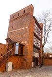 Ο κλίνοντας πύργος του Τορούν είναι ένας μεσαιωνικός πύργος Στοκ Εικόνες