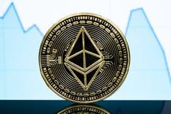 Ο κλασικός Ethereum είναι ένας σύγχρονος τρόπος της ανταλλαγής και αυτού του crypto νομίσματος στοκ φωτογραφία με δικαίωμα ελεύθερης χρήσης
