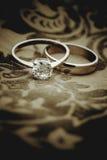 Ο κομψός γάμος προσκαλεί Στοκ Εικόνες